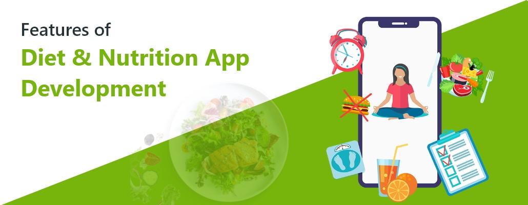 Features of Diet & Nutrition App Development