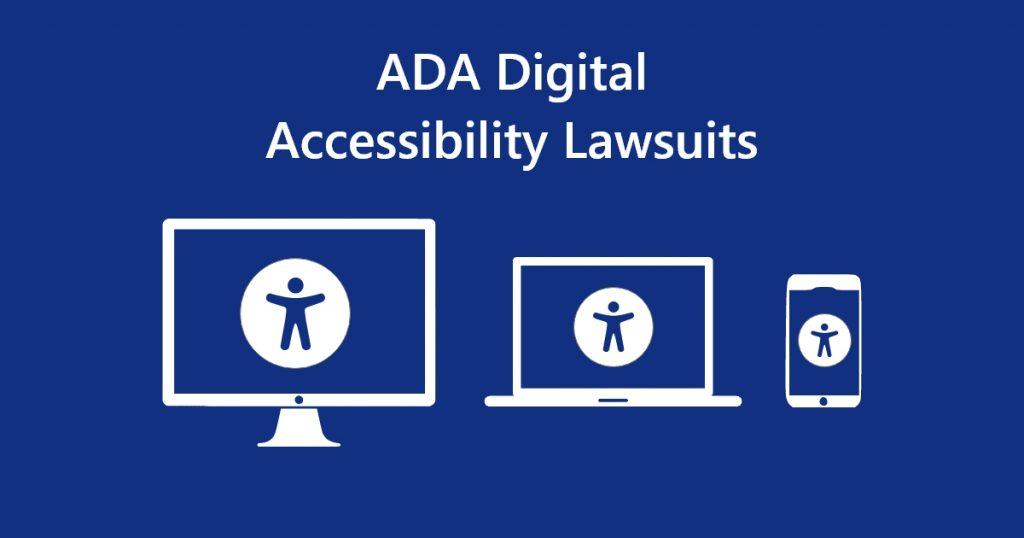 ADA Digital Accessibility Lawsuits